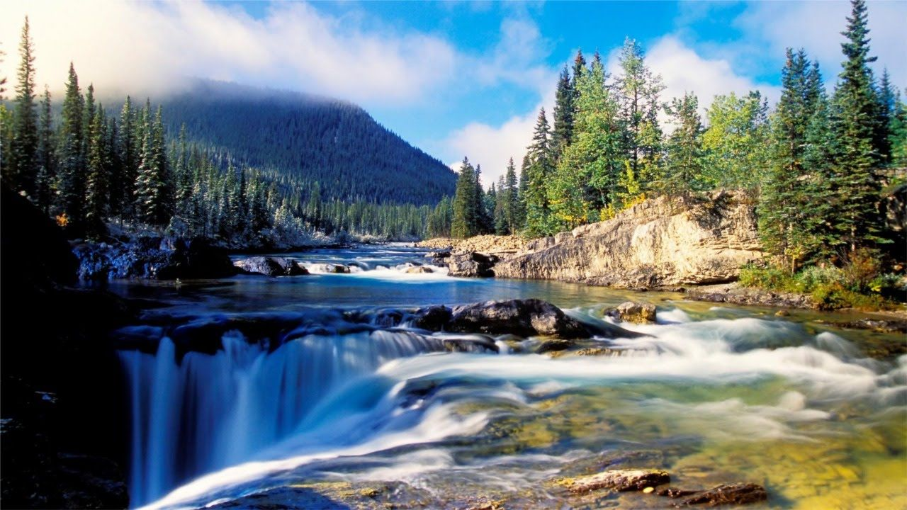 Beautiful Places Around The World Google Search Landscape Wallpaper Beautiful Nature Wallpaper Waterfall Wallpaper