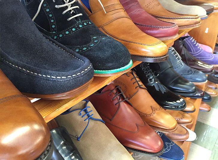4666577964f80 A visit to the Barker shoe factory outlet shop — Northampton shoes
