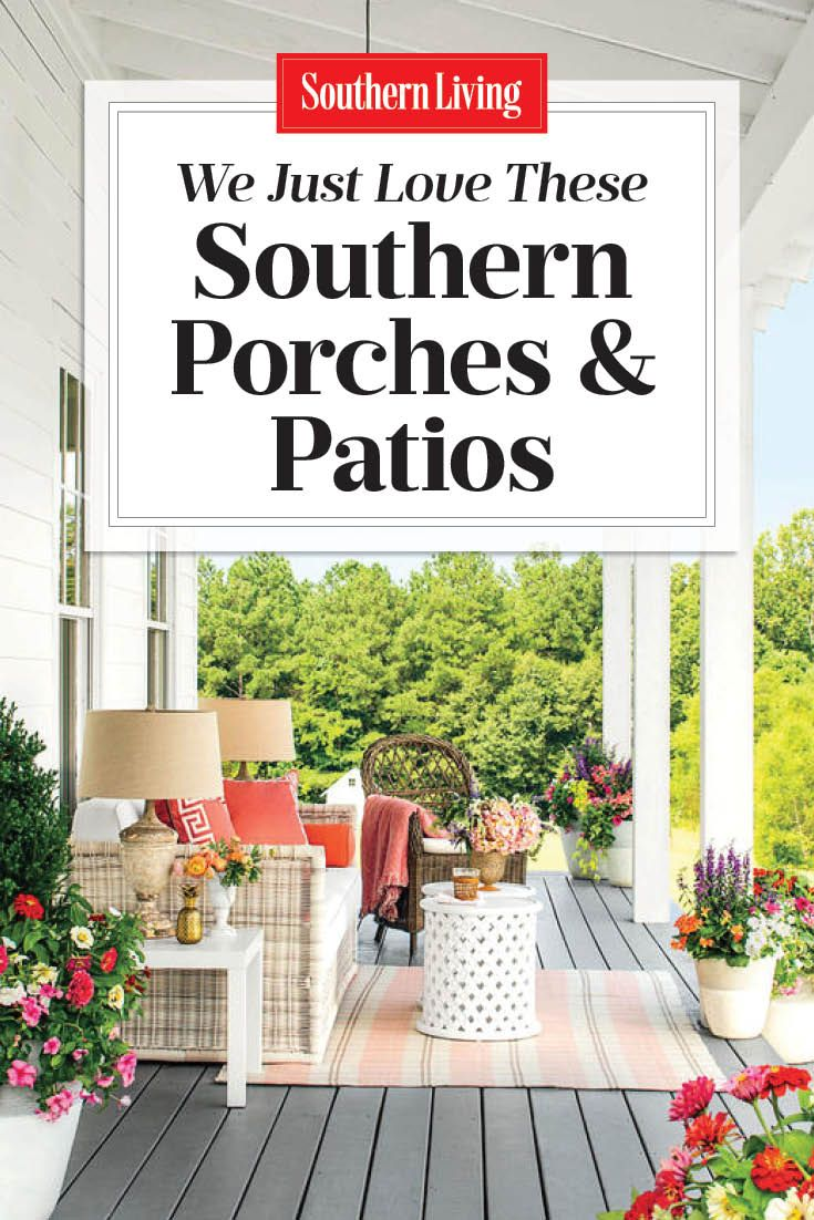 80 Breezy Porches And Patios Southern Porches Patio Southern