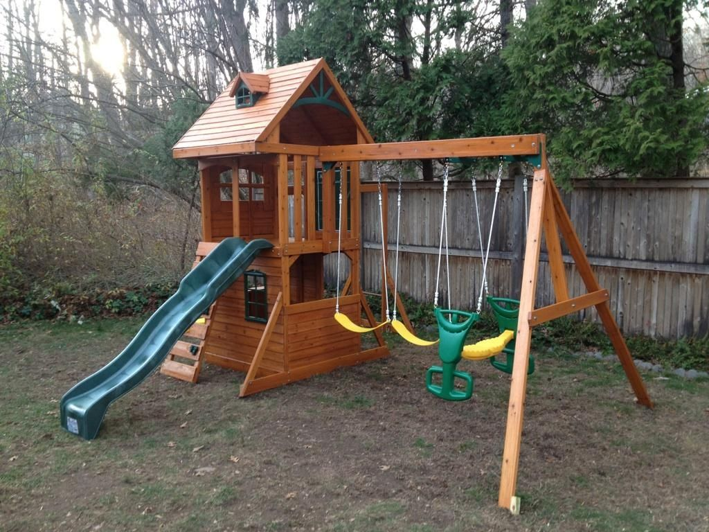 11/27/16 Playset Assembled in Stamford, CT | Backyard ...