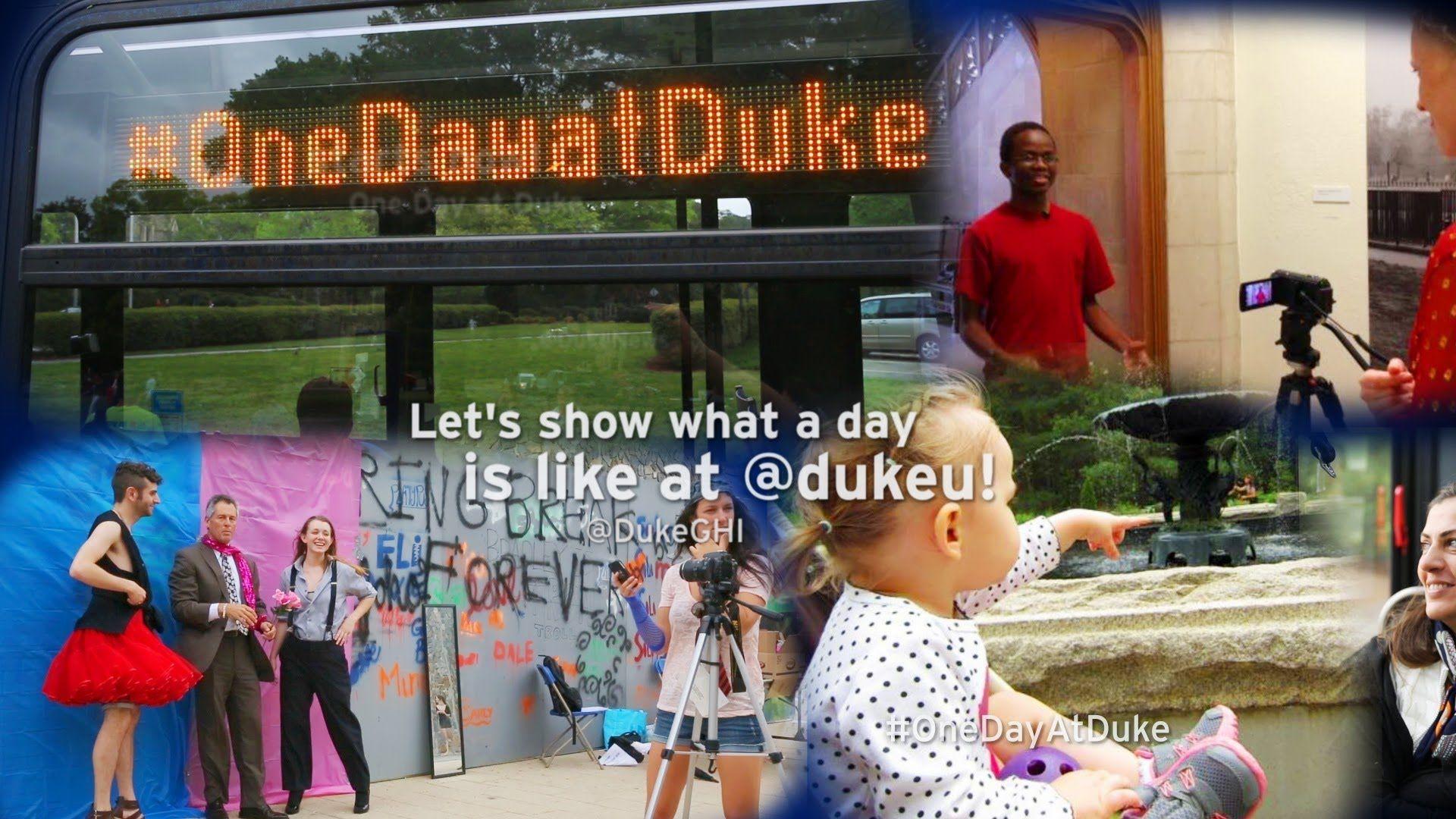 e Day At Duke Awesome SocialMedia driven public Service