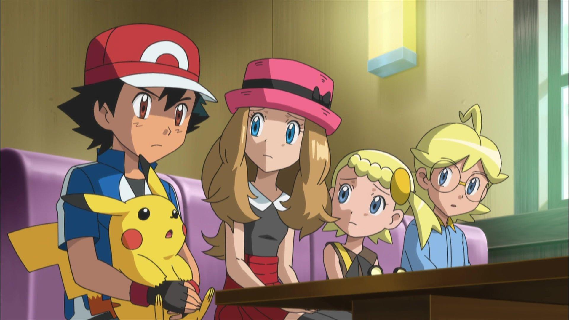 Anime Screencap and Image For Pokemon: XY  Fancaps.net