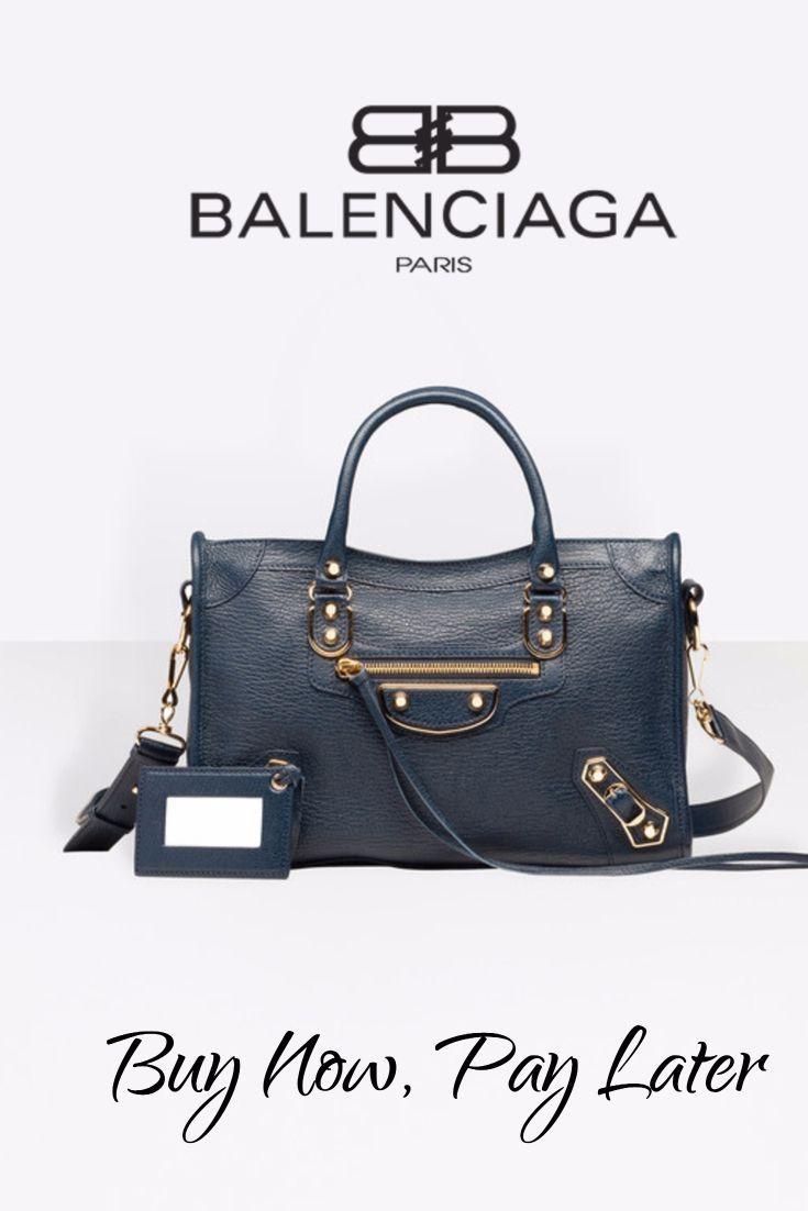 Buy Balenciaga Handbags Now, Pay Later