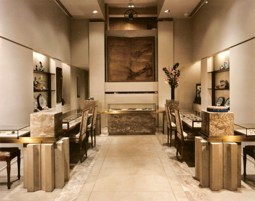 Dhamani 1969 Jewelry Boutique By Callison Dubai UAE Retail Design Blog