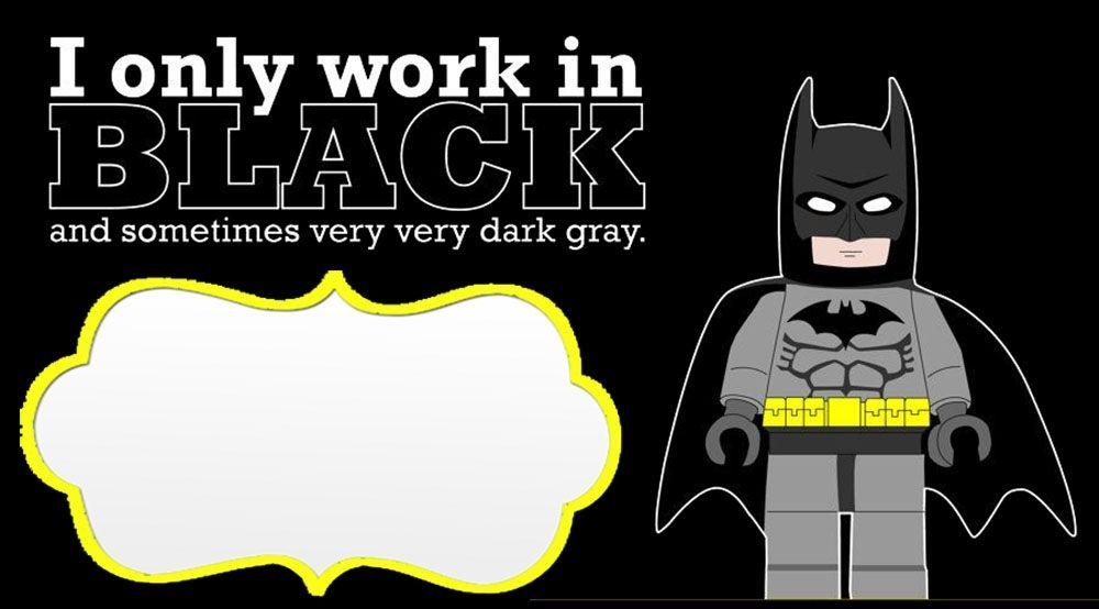 photo regarding Free Printable Batman Invitations known as Totally free Printable Batman Birthday Invites Totally free Printable