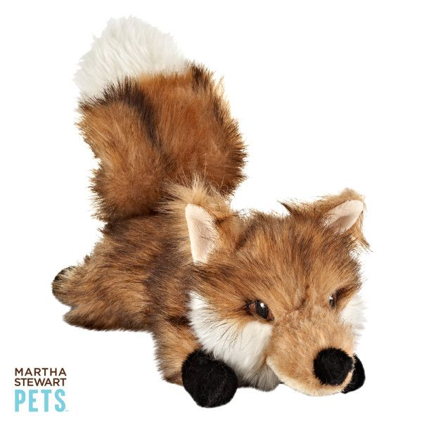 Sneak In Some Fun With The Martha Stewart Pets Fox Dog Toy