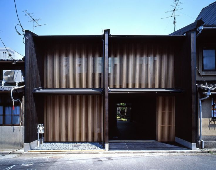 Modern House Design Kyoto Model A House With 3 Walls