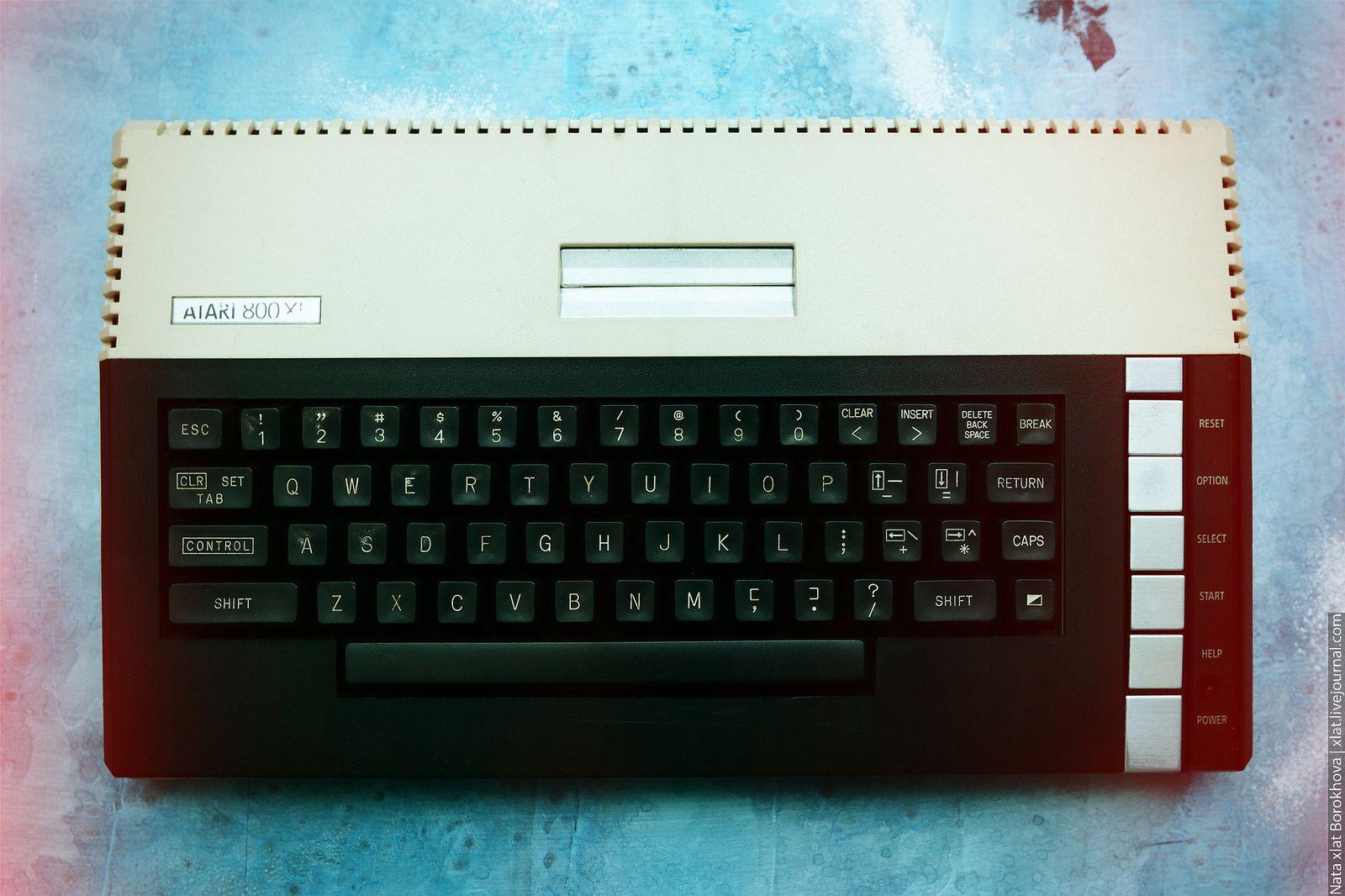 Atari 800XL Atari, Computer keyboard, Computer