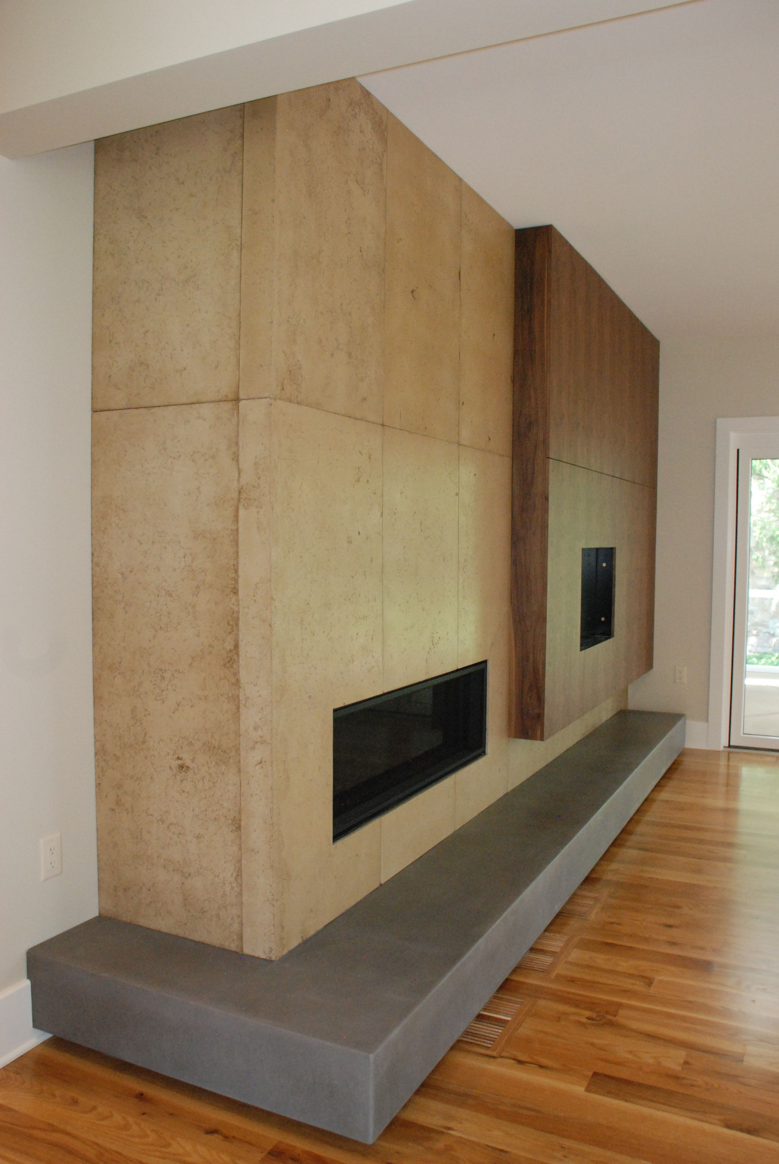 fireplace tv surround designed by jennifer hendrickson interiors