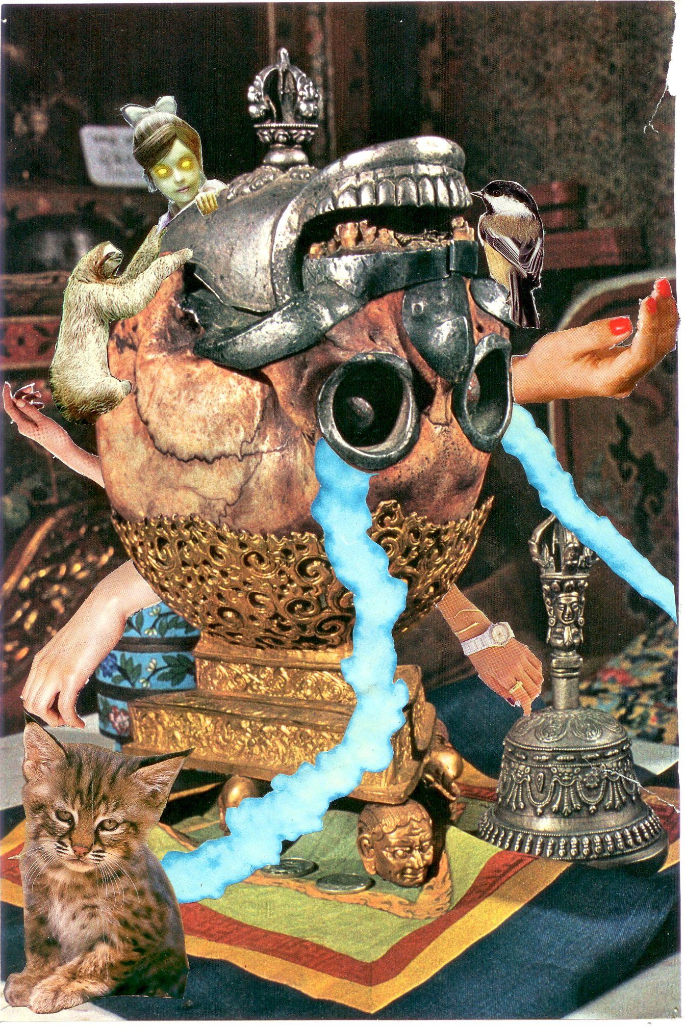 Intro To Art Surrealist Magazine Collage