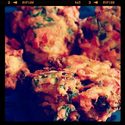 Appetizer: Veg Pakora * India at Your Home *