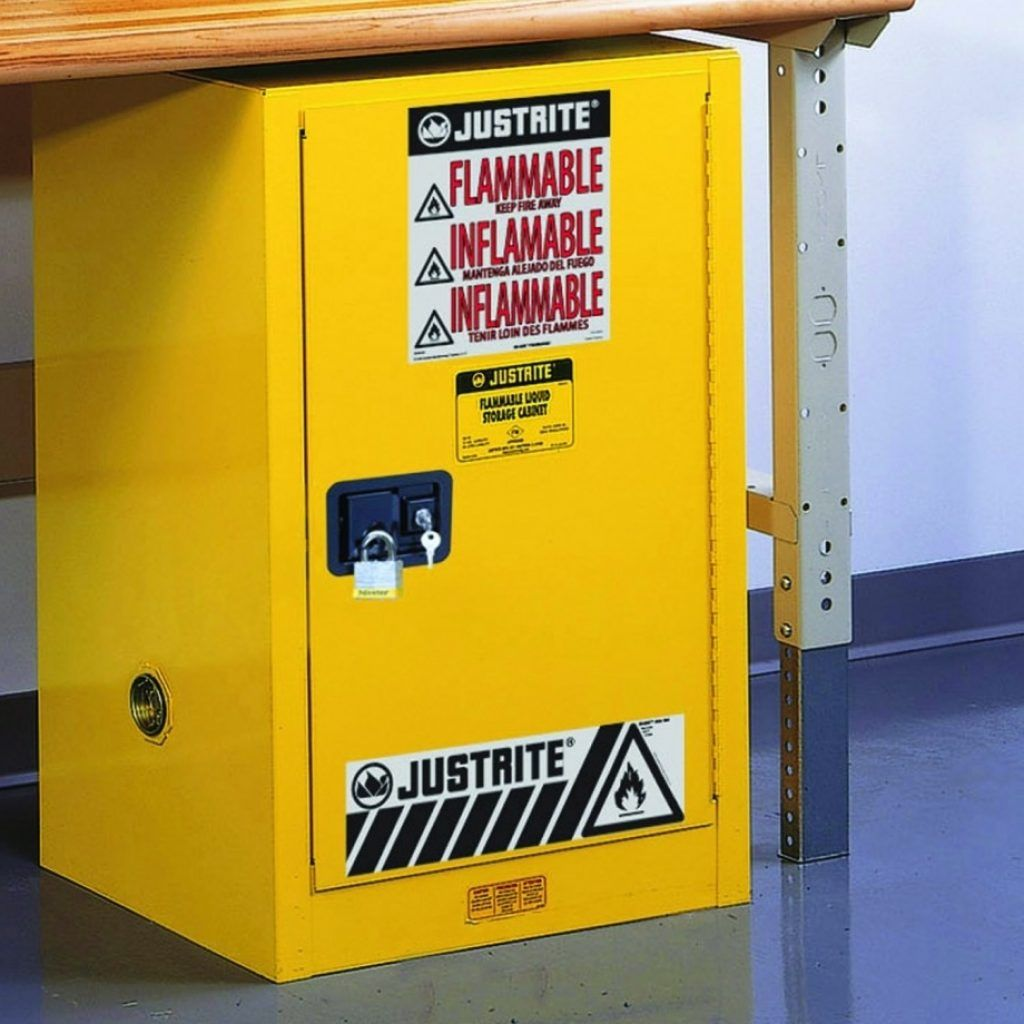 Unique Flammable Cabinet Self Closing Retrofit