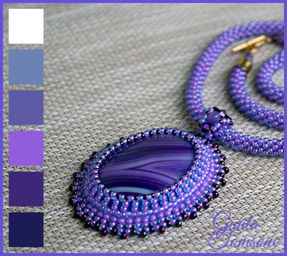 Purple sky | biser.info - всё о бисере и бисерном творчестве