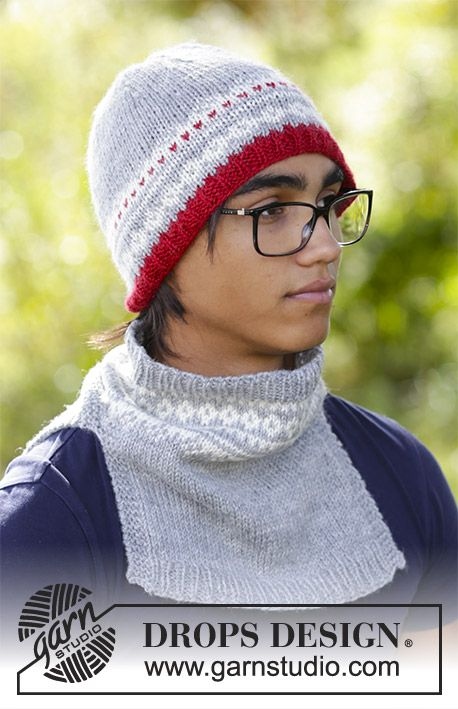 Narvik Set Drops 185 7 The Set Consists Of Mens Knitted Hat