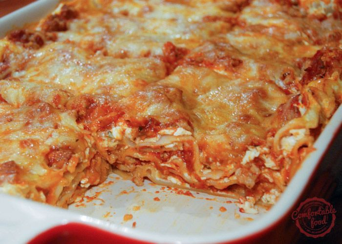 Easy classic meat lasagna recipe meat lasagna recipes for Different kinds of lasagna recipes