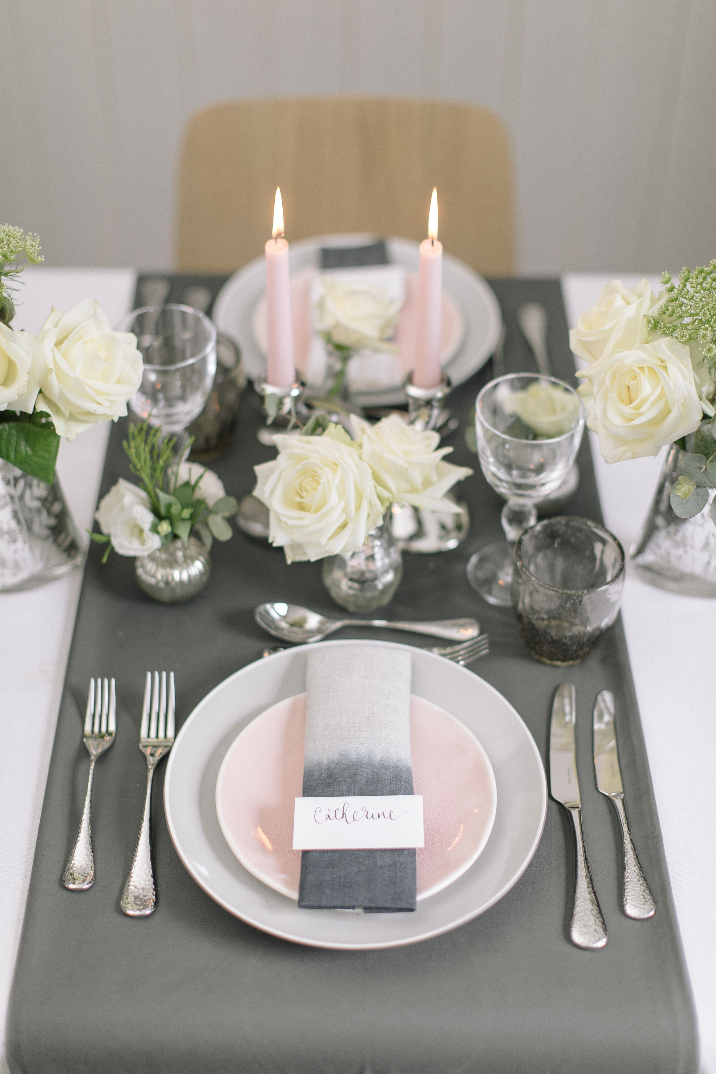 Robert Welch Fine Dining Cutlery Table Scape Table Decor Centrepiece Wedding Decor