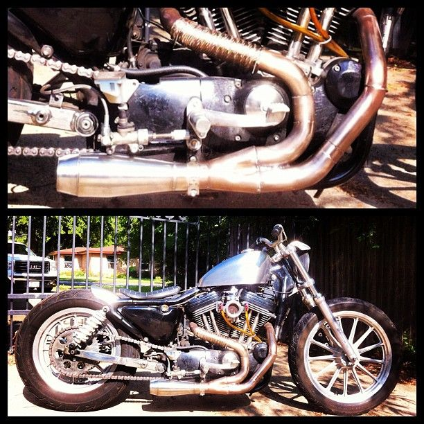 Low Cost Exhaust >> Chopcult Inexpensive Low Cost 2 1 Exhaust For My