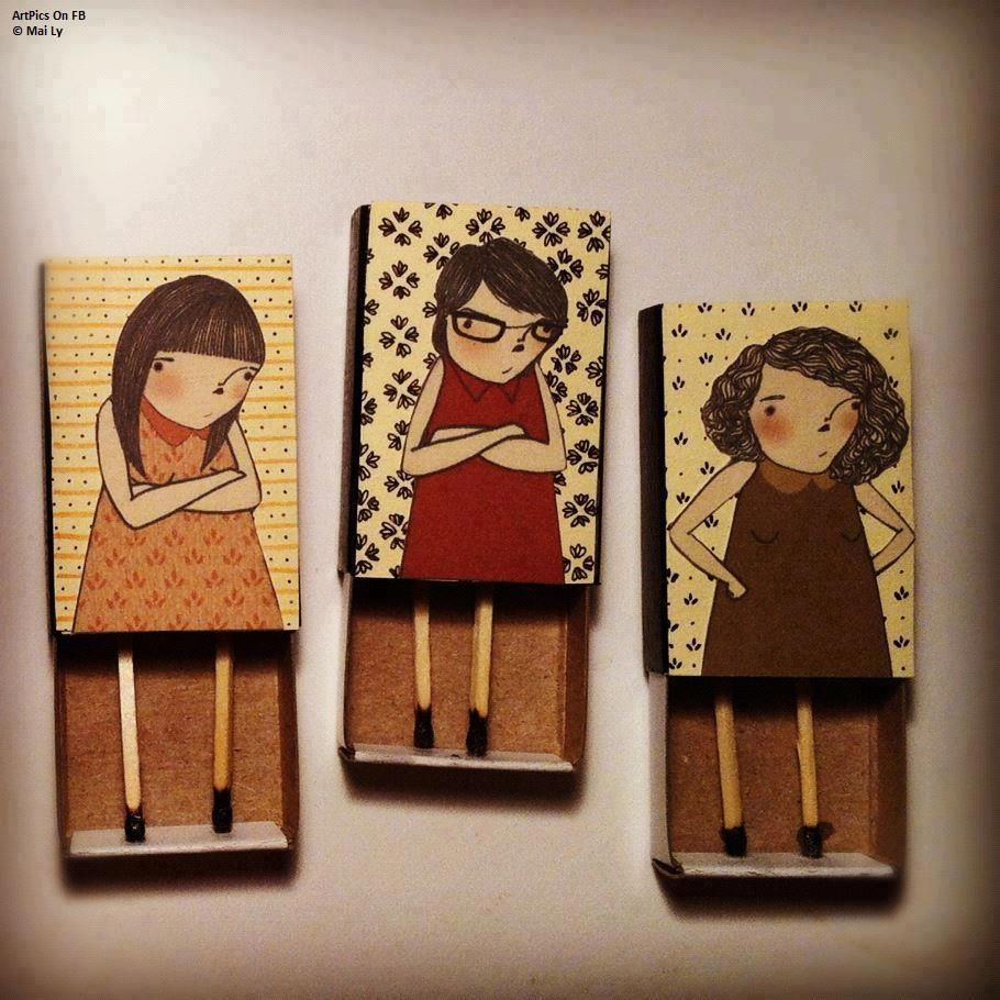 Sceptical Matchbox Girls Art Crafts
