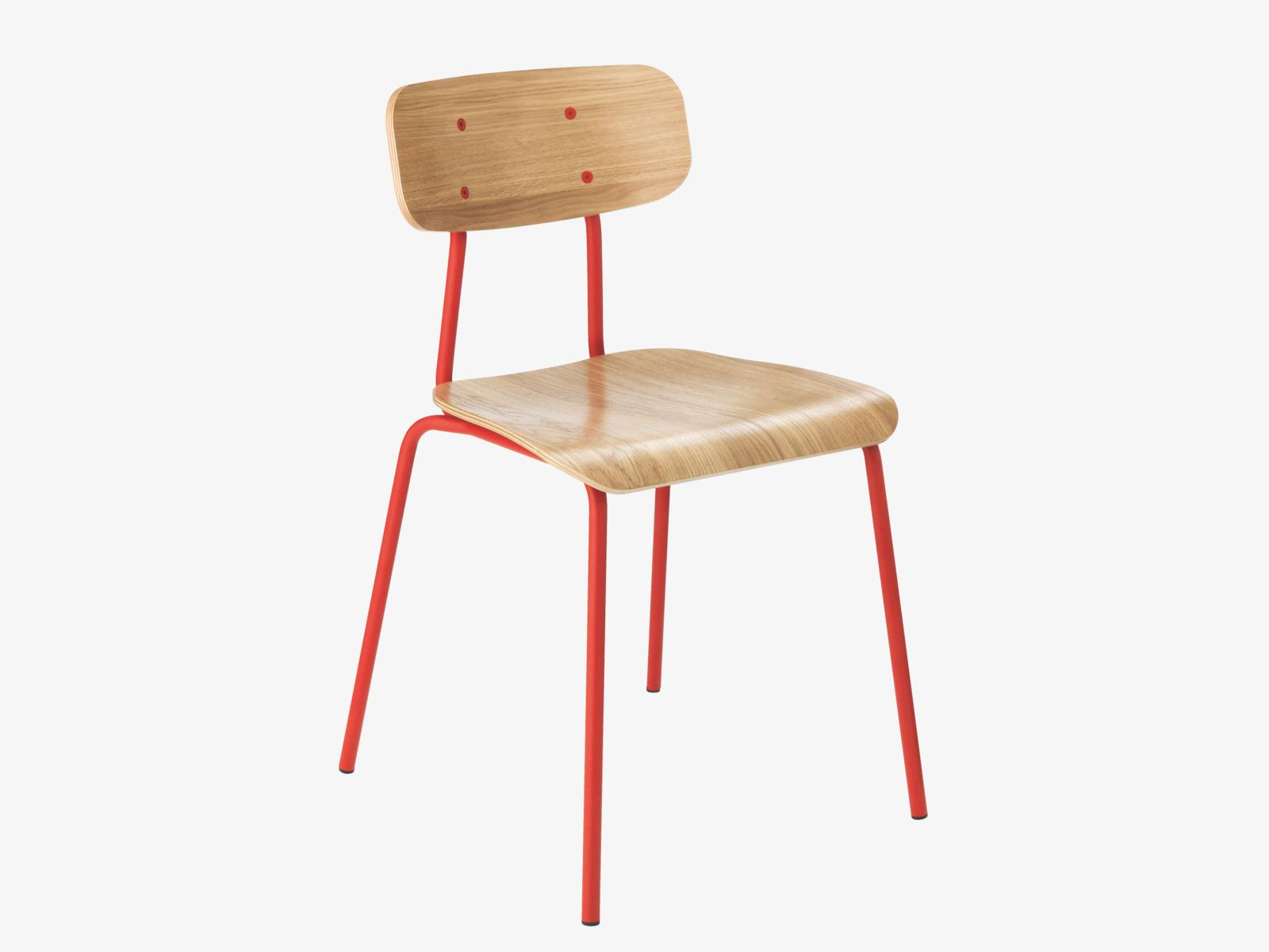 HESTER Rouge Chaise Chaises Habitat VL • 0911