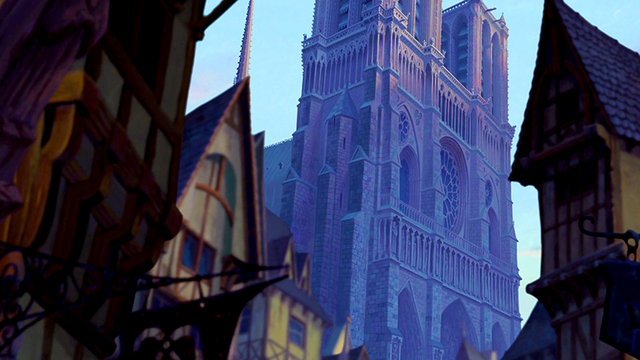 Disney's Notre Dame shot Movie locations, Disney movies