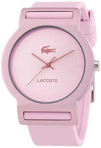 Lacoste Womens Tokyo 2020076 Pink Silicone Analog Quartz Watch Visit The Image Link More Details Trendy Watches Womens Watches Luxury Watches Women Fashion