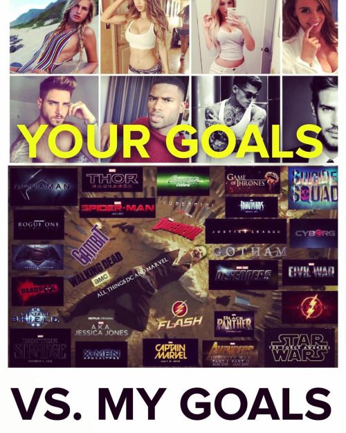 Your goals vs mine  #BatmanVSuperman #SuicideSquad...