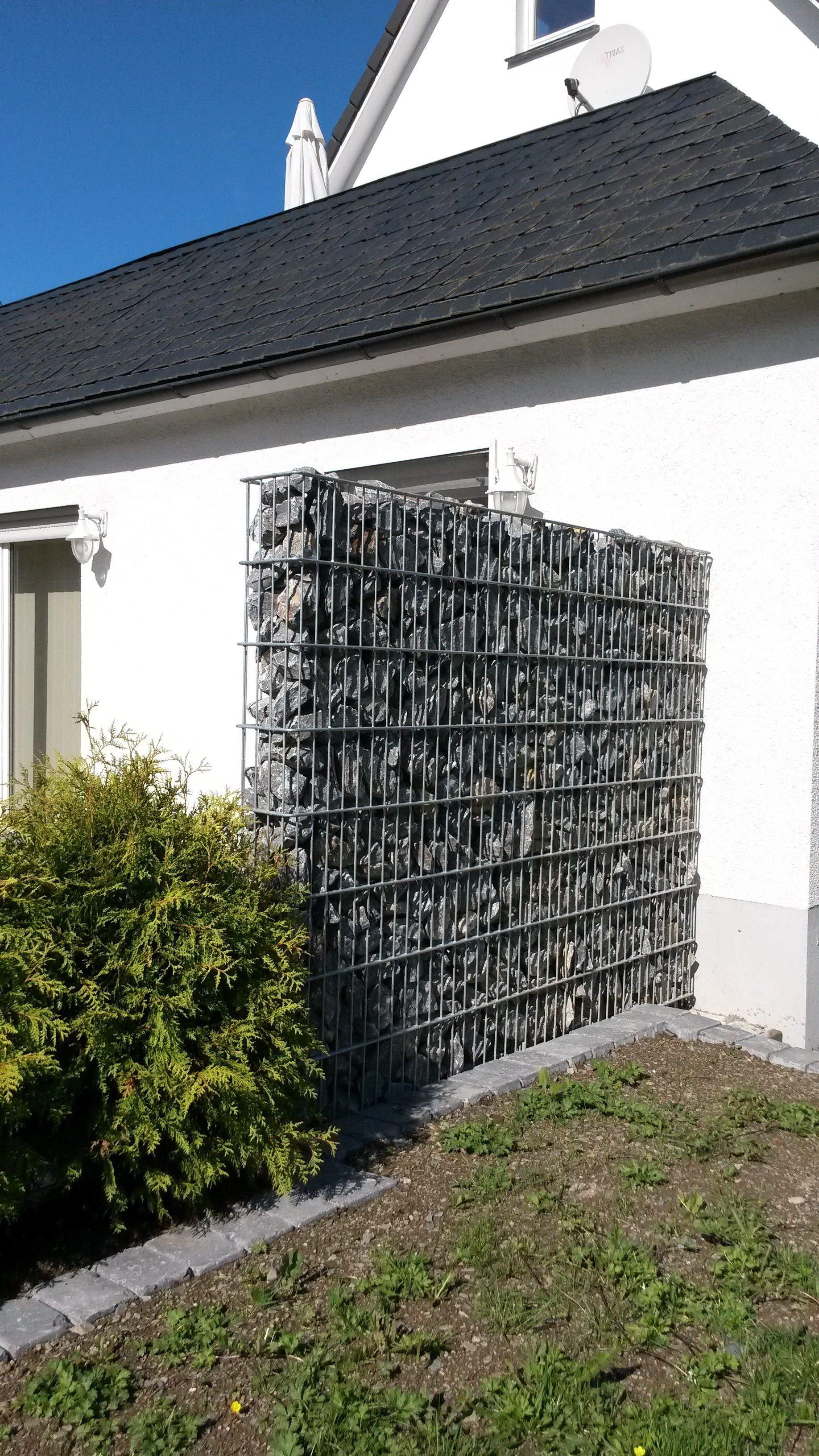 Großartig Gabione Olpe - Sichtschutz zur Straße | Gabionen Steinkörbe  LQ19