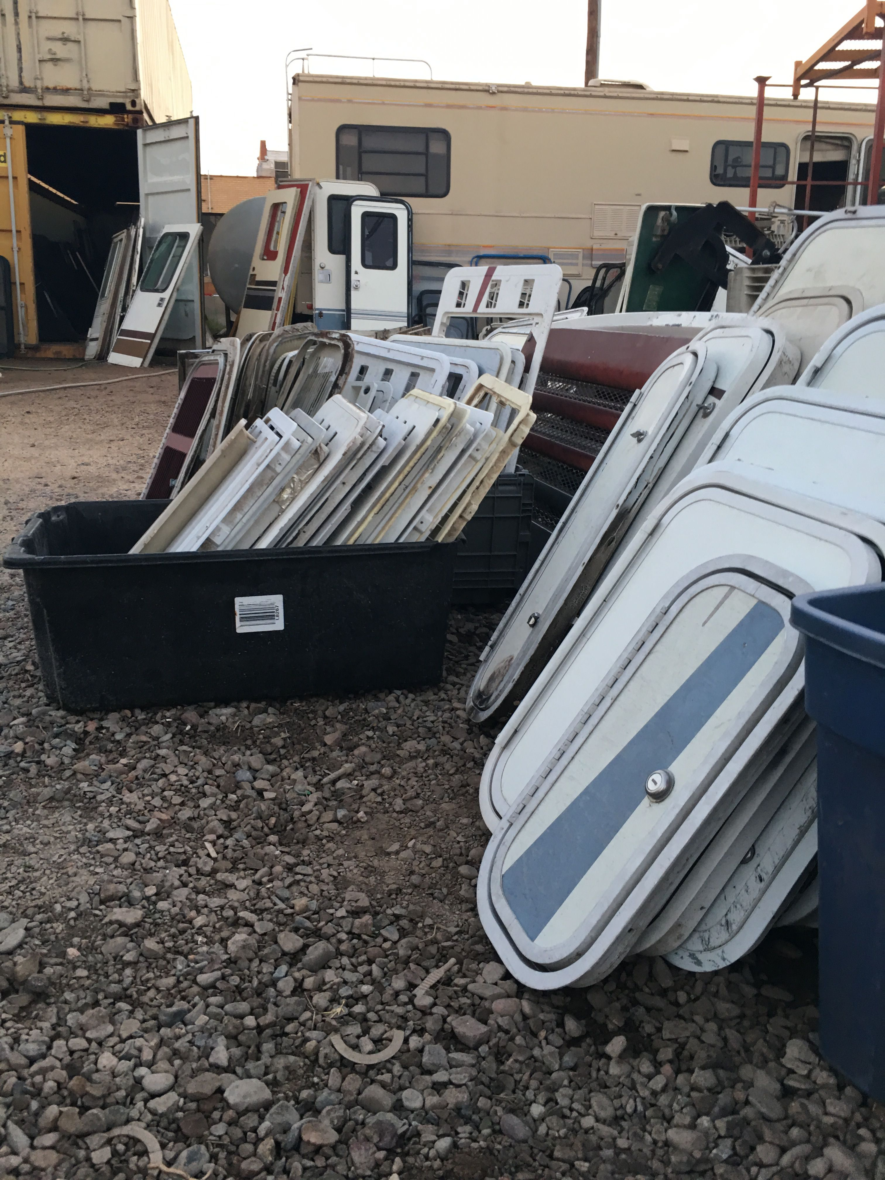 REPLACEMENT RV COMPARTMENT DOORS! | Salvage RV Parts into something