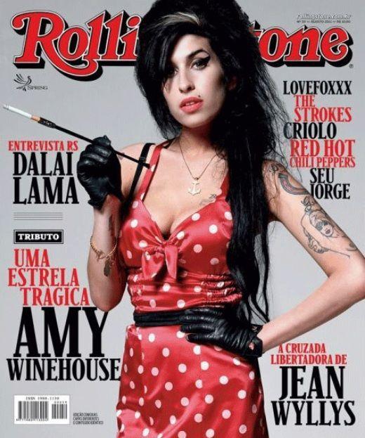 Amy Winehouse, Brazilian Rolling Stone cover