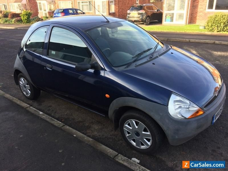 Ford Ka Dark Blue 05 Plate 1 3 Petrol Hatchback Mot Expires Jan 17