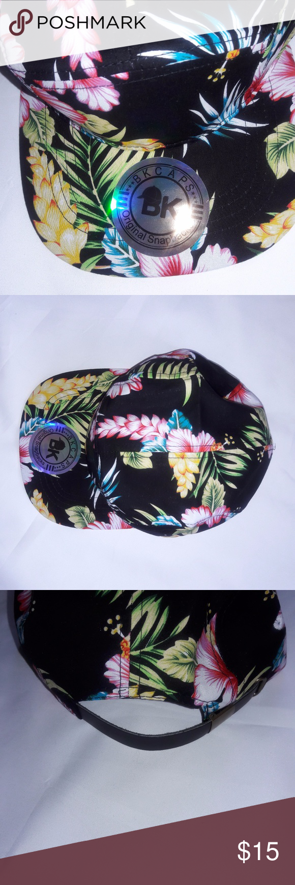 BK Caps Original Snapbacks Hawaii Hat Snapback BK Caps Original Snapbacks  Hawaii Hat Snapback Adjustable Black 594cfbddf77