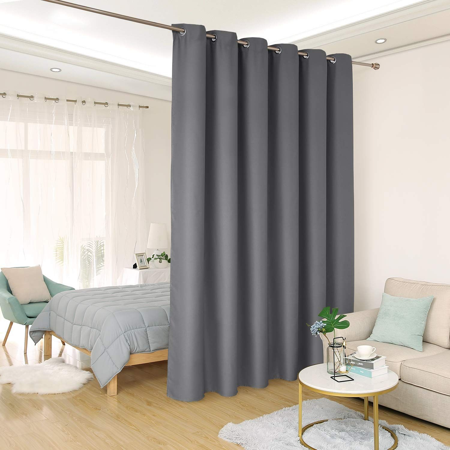 Amazon Com Deconovo Privacy Room Divider Curtain Thermal