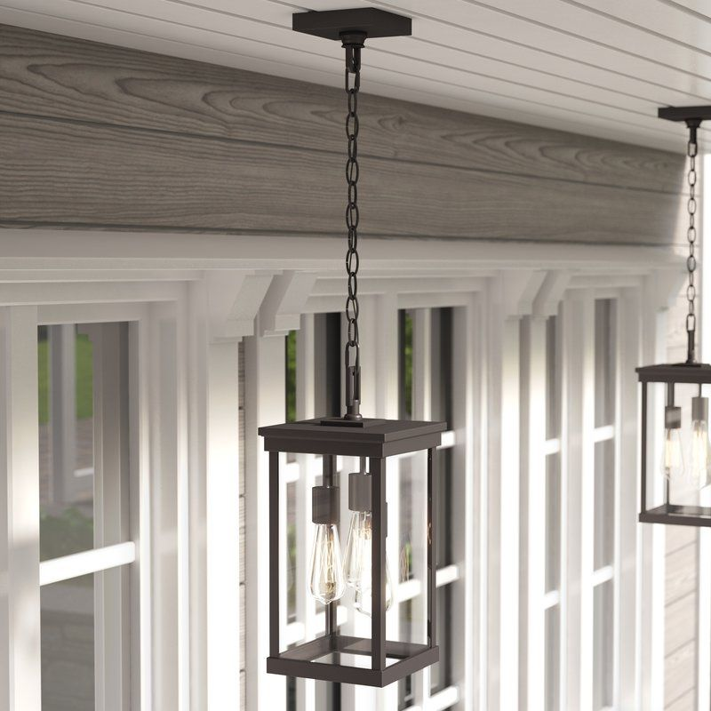 Mccombs 3 Light Outdoor Hanging Lantern Outdoor Hanging Lights Outdoor Chandelier Outdoor Hanging Lanterns
