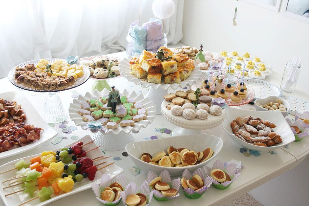Evas Birthday The Buffet Table Part One A Magical Day Just a