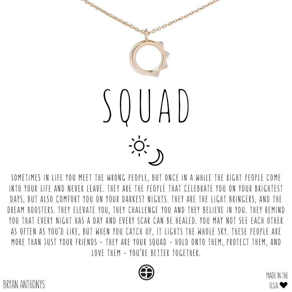 66d02857c9be Squad Sun   Moon Friendship Necklace