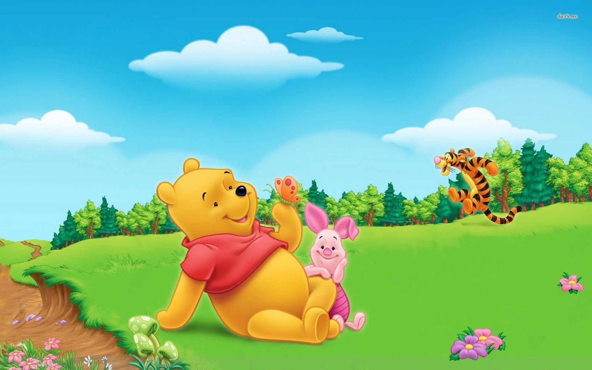Winnie The Pooh Backgrounds For Desktop Hd Storm Holiday 1920x1200