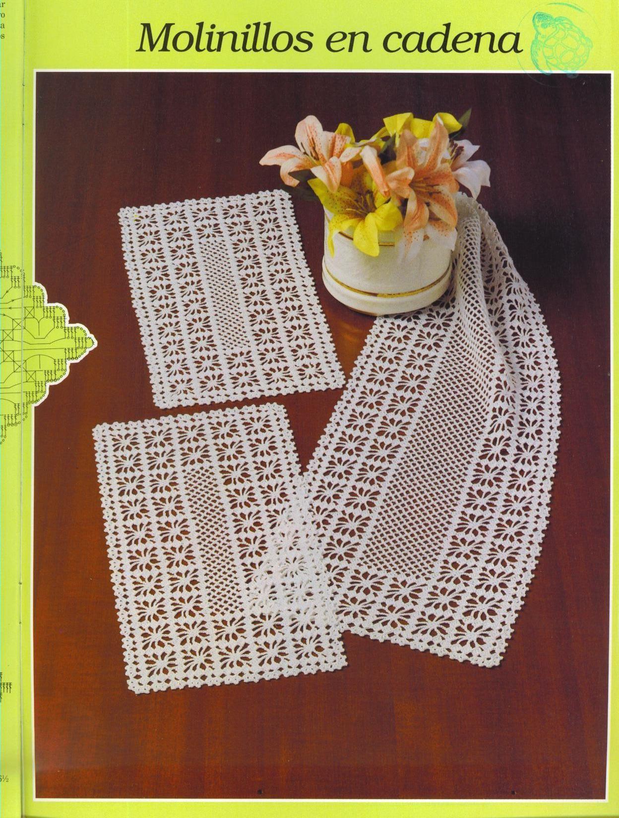 Crochet Spider Web Table Runner | Tischläufer | Pinterest ...