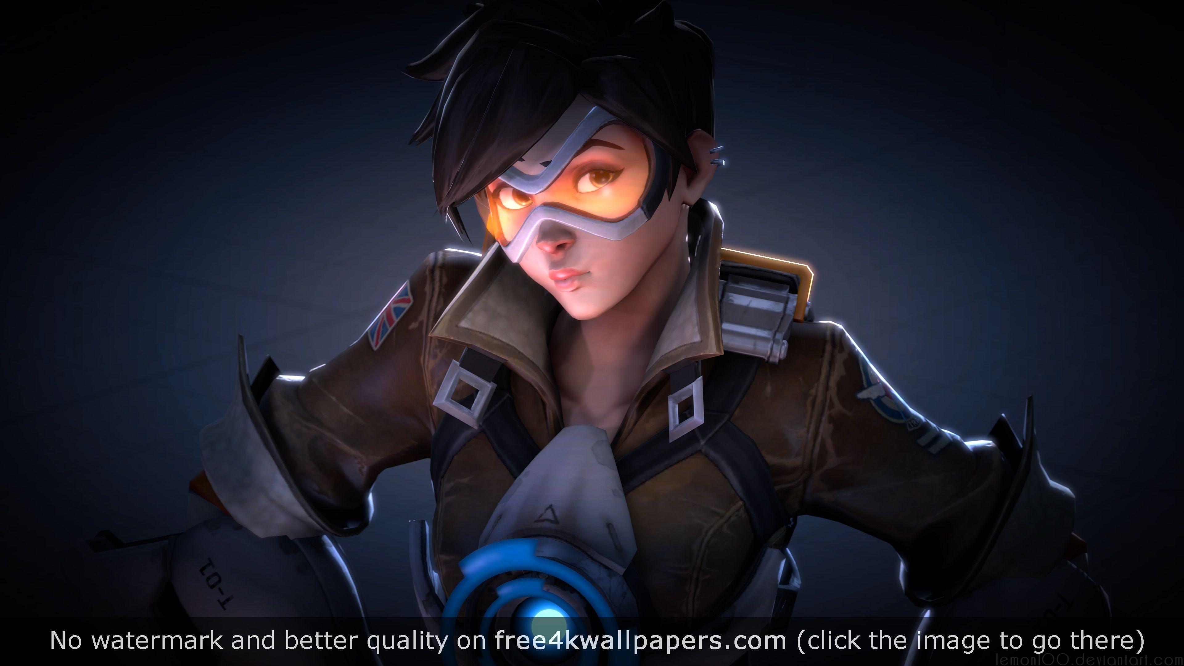 Tracer overwatch fan art 4k 3840 2160 - Overwatch wallpaper 4k ...