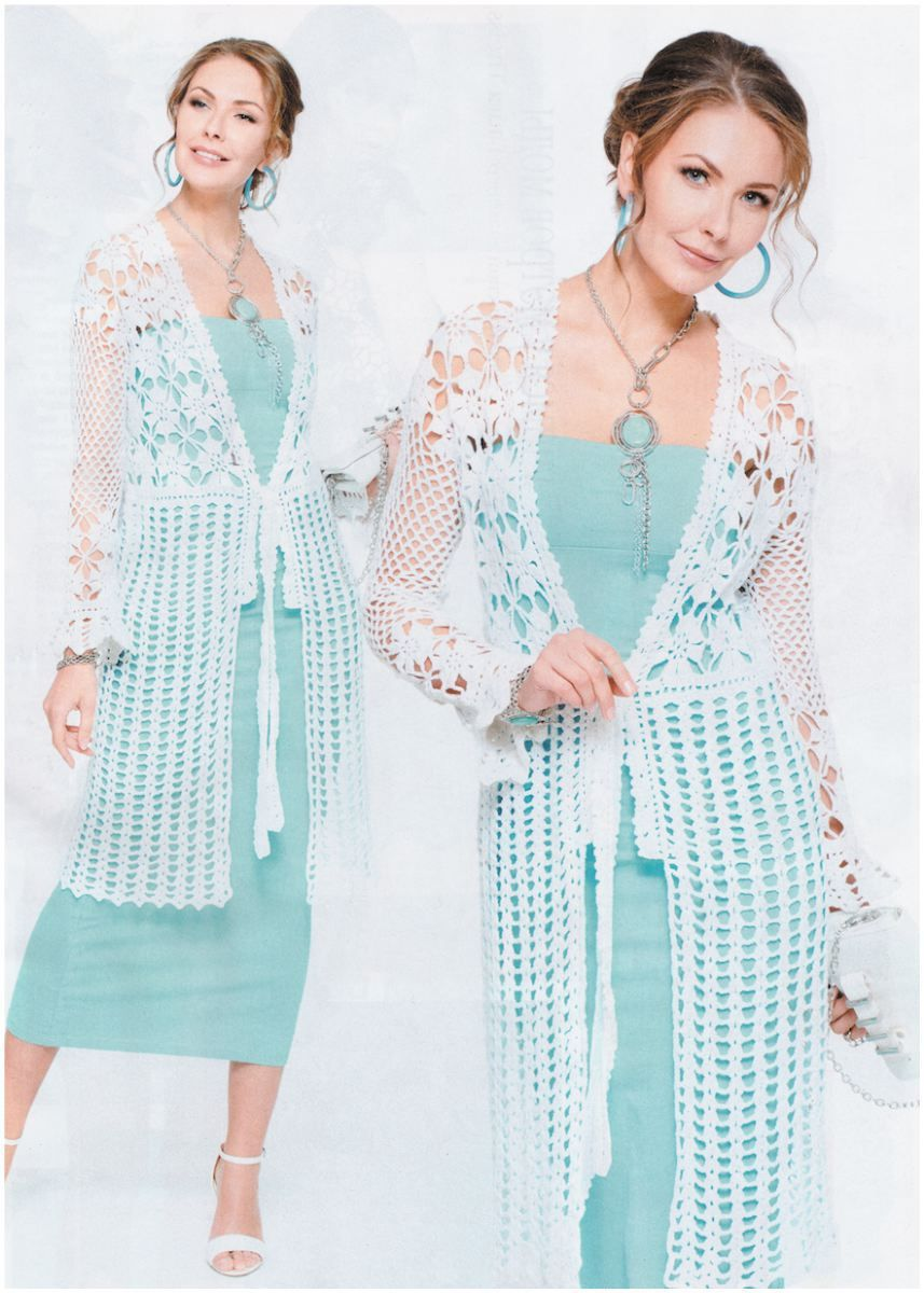 Flower Tunic Crochet Diagram Crochet Crochet tunic