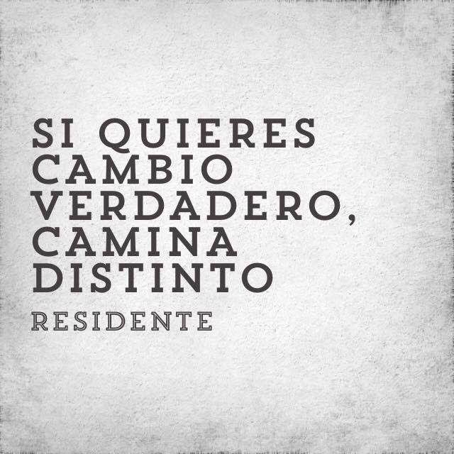 Residente Quotes Frases Inspiradoras Palabras De Inspiración Residente Calle 13