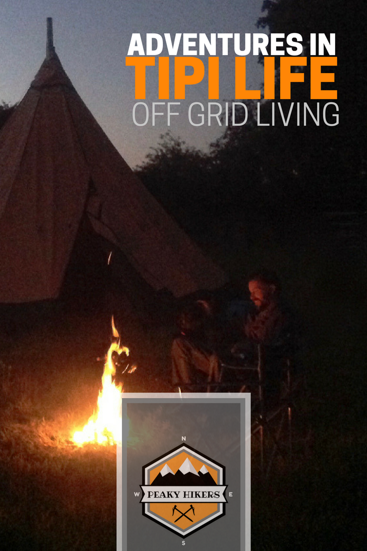 Living in a Tipi through a UK Winter Off Grid Tentipi