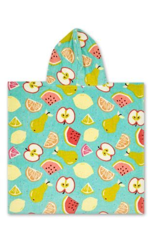 Buy Fruit Towelling Poncho online today at Next: New Zealand