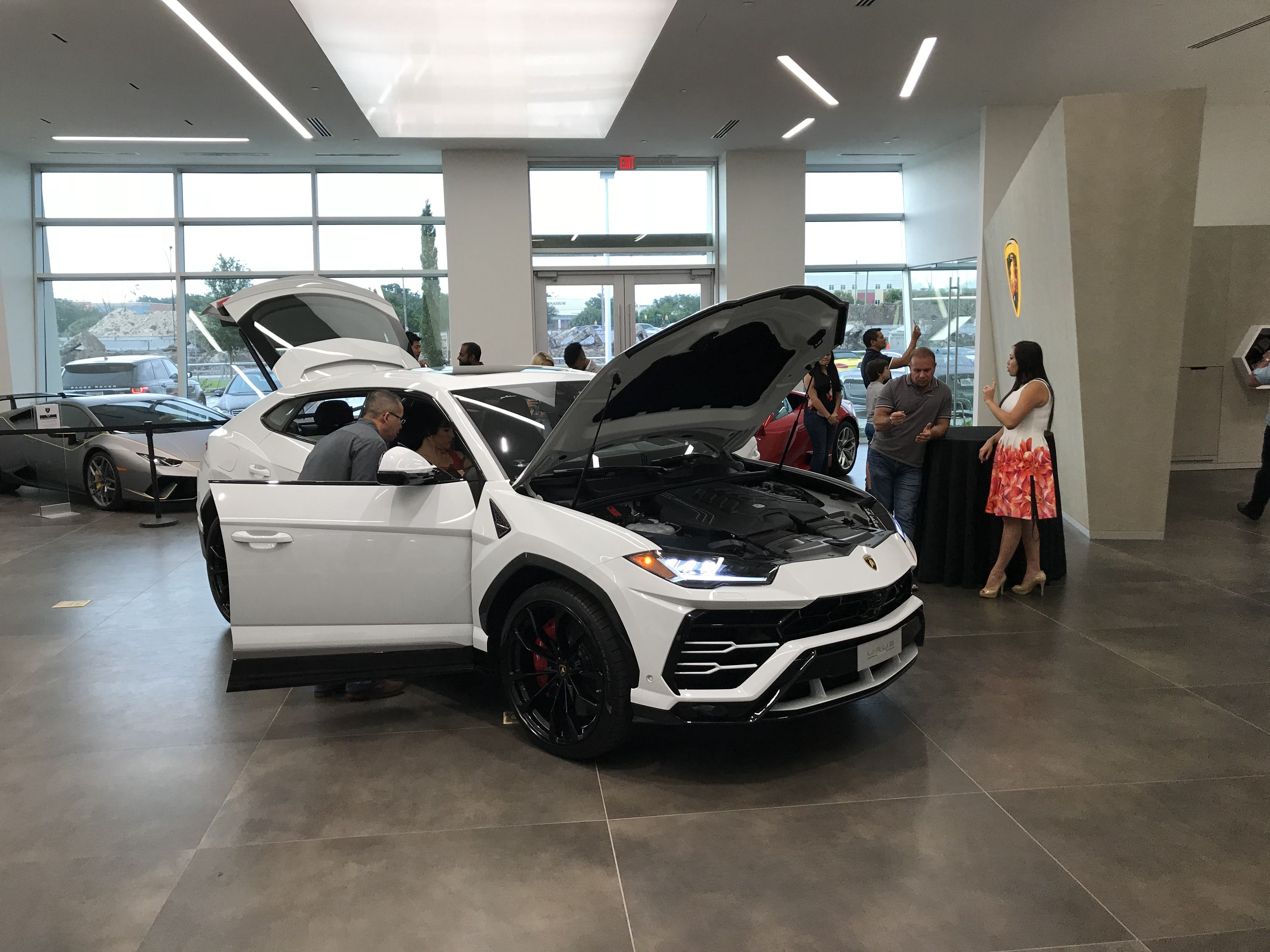 Thank You To Everyone Who Joined Us For Our Lamborghini Urus Vip Launch Event At Our New Location Just New Sports Cars Sport Utility Vehicle Utility Vehicles
