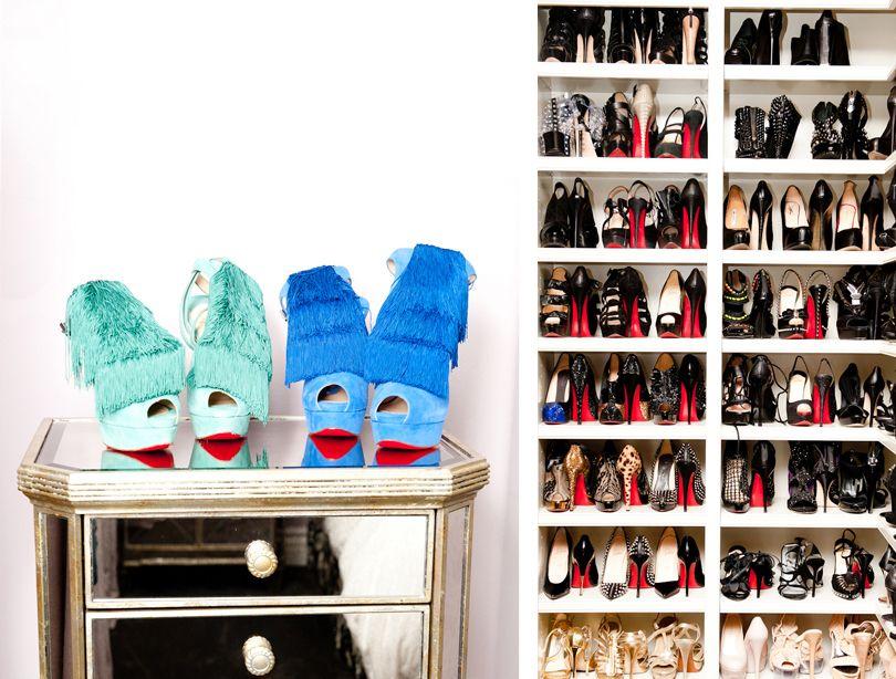 Khloe Kardashian Shoe Collection