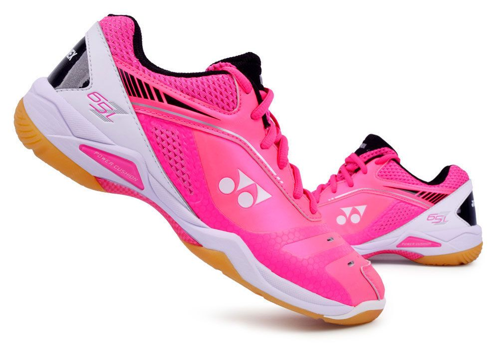 432ed3b62cd Yonex Women's Badminton Shoes Power Cushion 65Z Ladies Pink Racquet  SHB-65ZLEX #YONEX