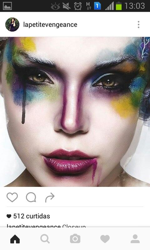 Pin By Frida Dal On Avant Garde Makeup Pinterest Avant Garde