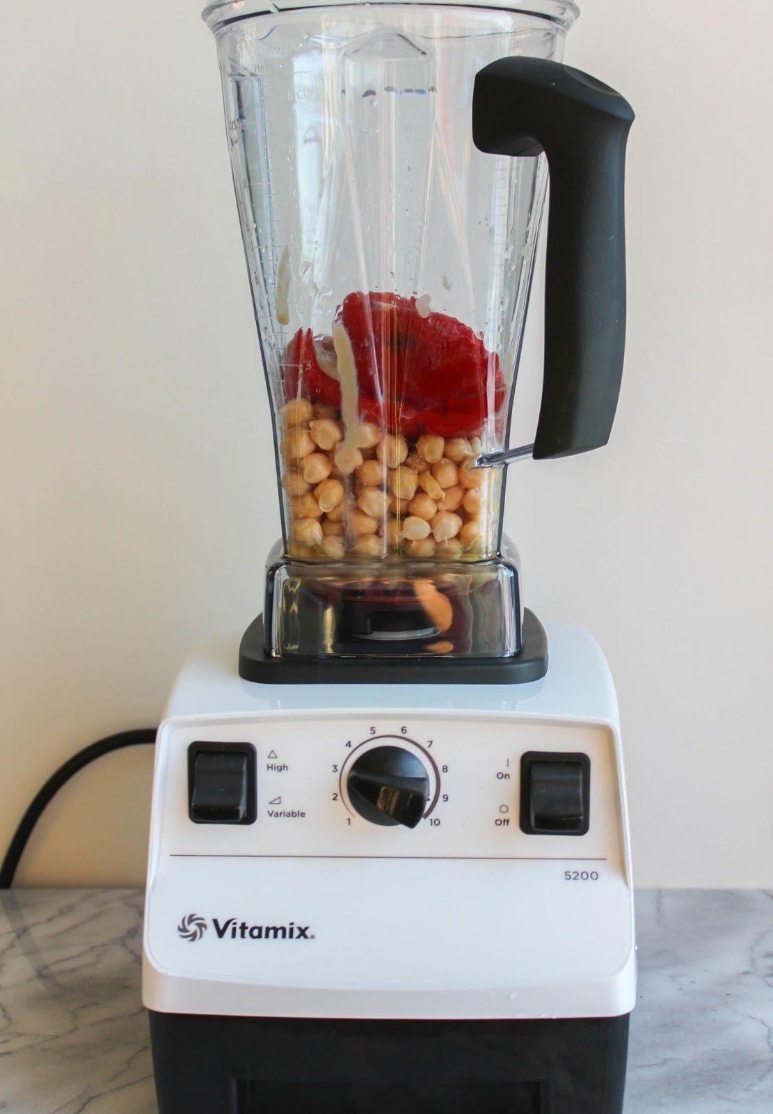 Roasted Red Pepper Hummus Vitamix Recipe Vitamix