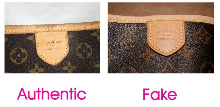 How To Spot A Fake Louis Vuitton Please Check Before Consigning