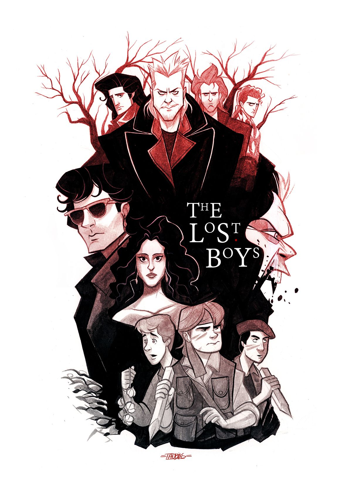 the lost boys by thobias daneluz movies posters