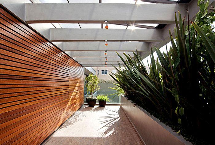 Luxury Vila Madalena with Smooth Indoor Decor dark wood timber